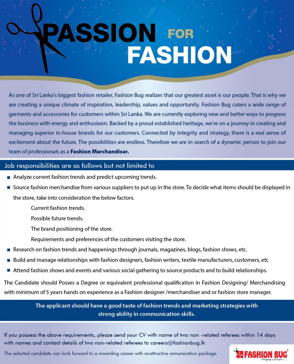 Fashion Merchandiser