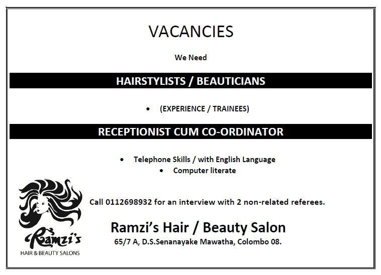 Hair stylist recruitment om hair for Job salon distribution
