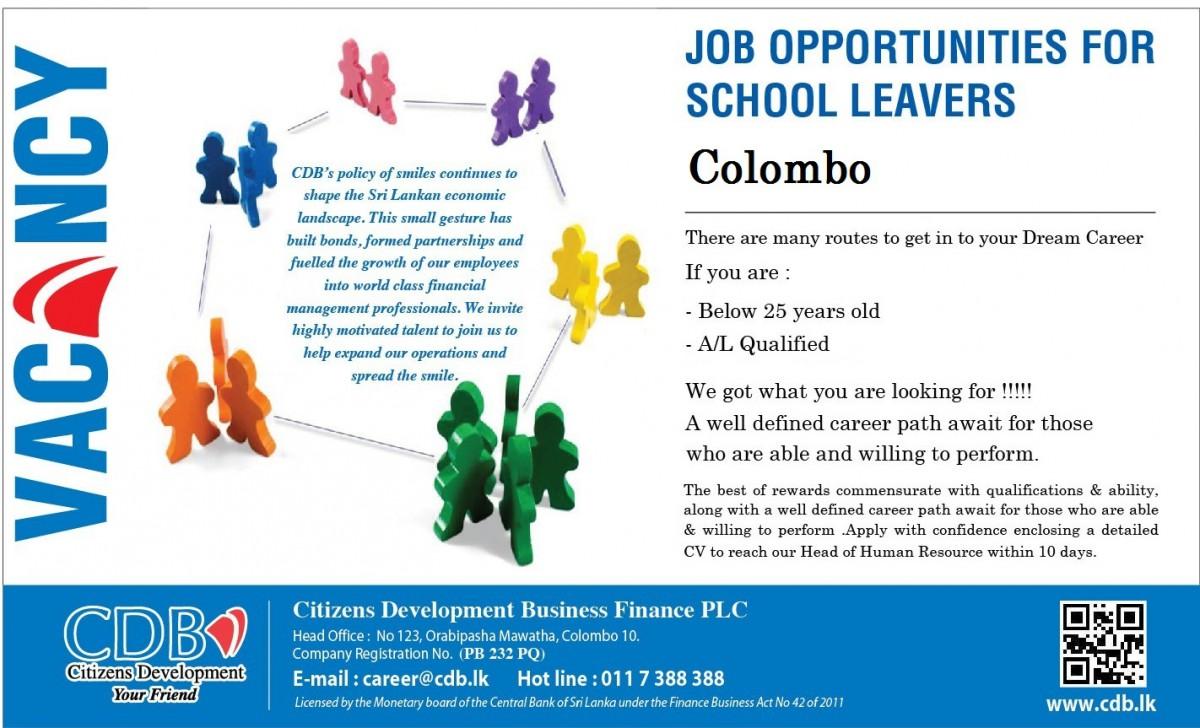 School Leavers – Colombo