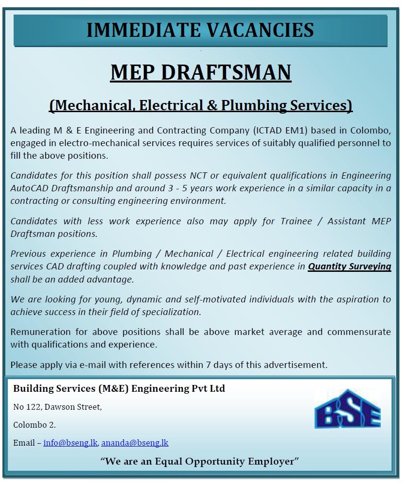 MEP Draftsman