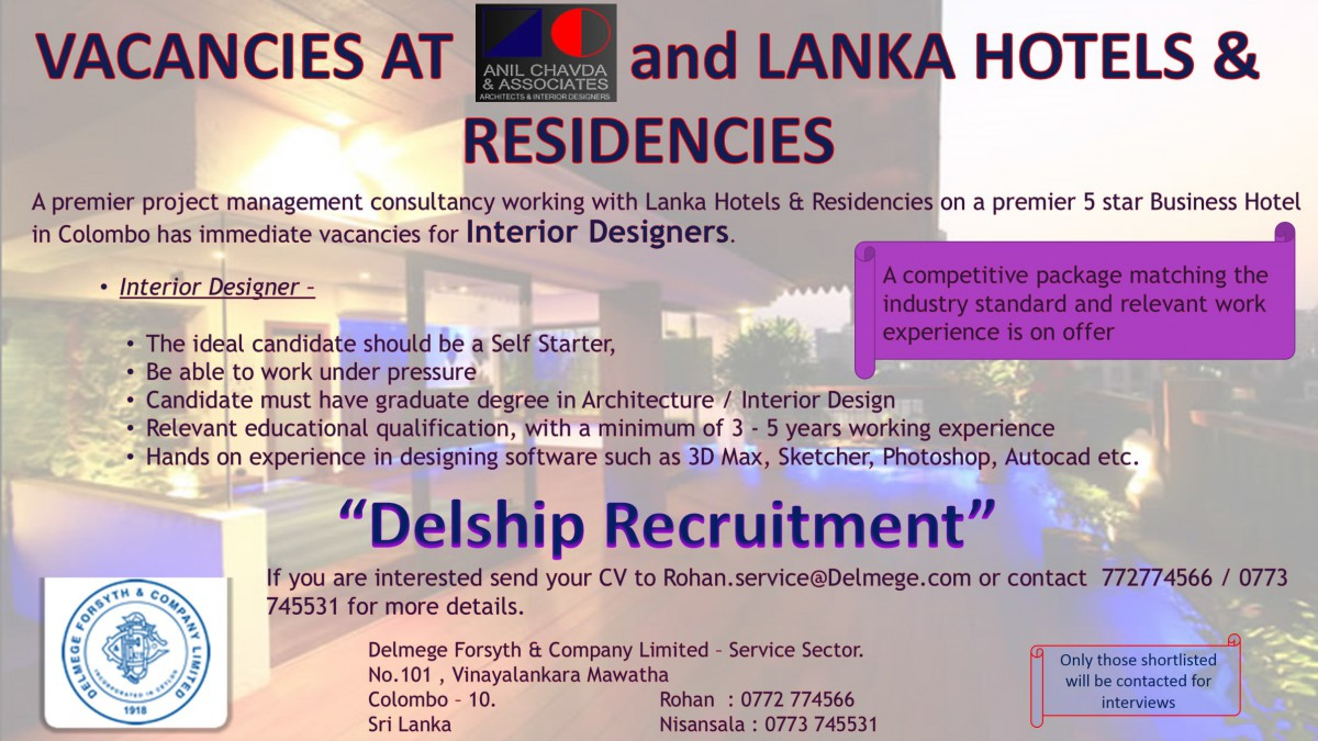 Interior Designer Colombo