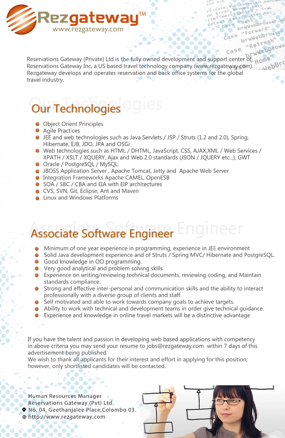Associate Software Engineer Job Vacancy in Sri Lanka