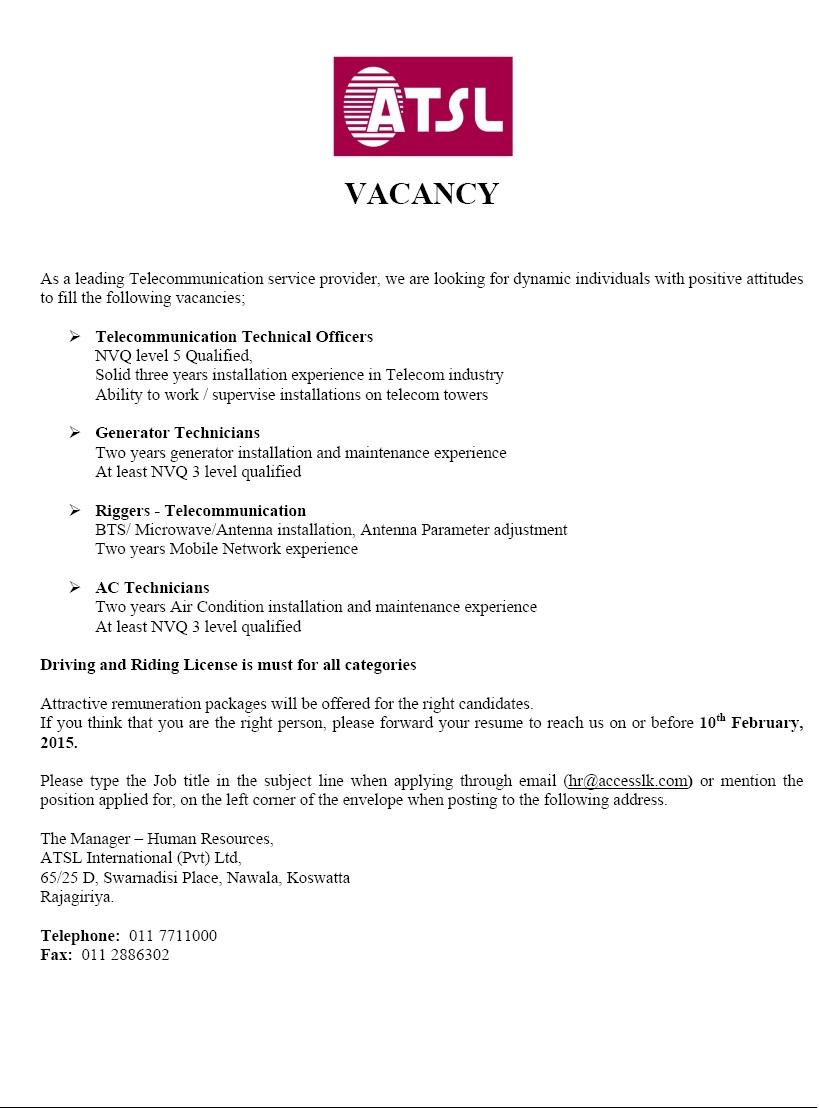 ac technician job description pdf