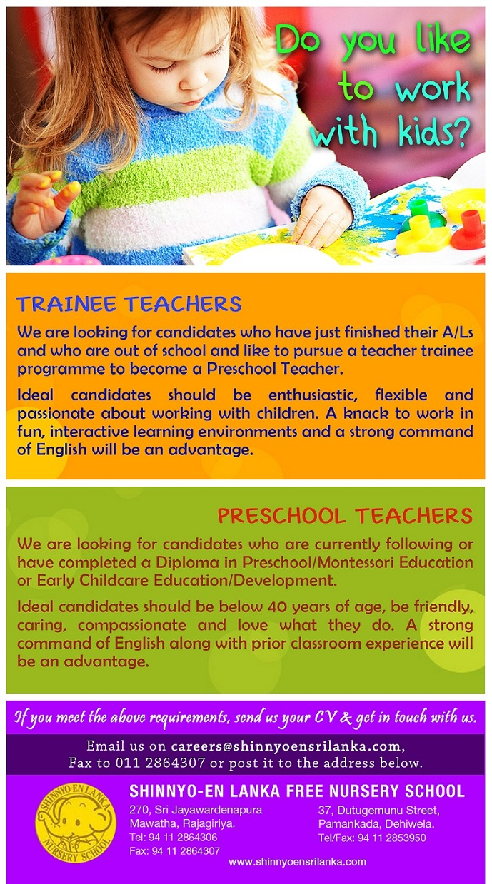 Preschool Montessori Teachers