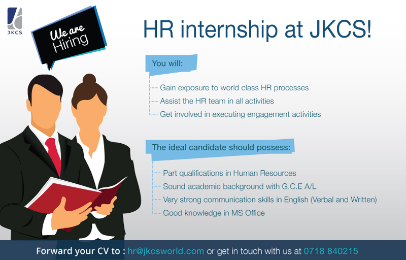 Hr Internship Job Vacancy In Sri Lanka