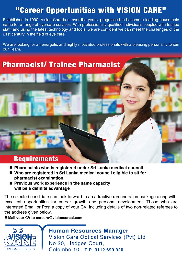 pharmacist career report About pharmaceutical journal jobs pharmaceutical journal jobs has an unrivalled track record in helping pharmacists and pharmacy technicians find their perfect job online since 2003, we know the world of pharmacy inside and out.
