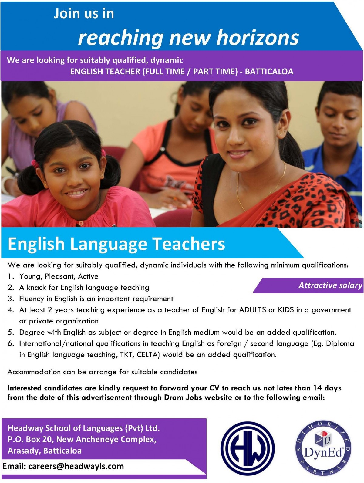 English Language Teachers 2019