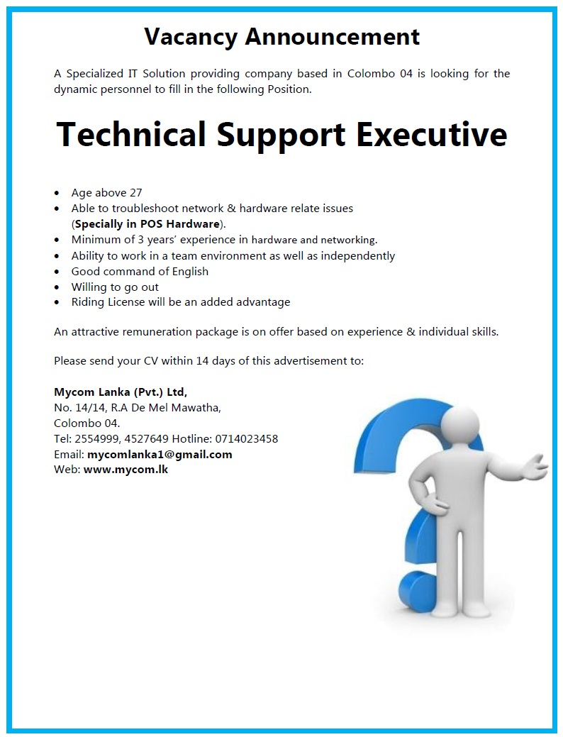 Technical Support Executive