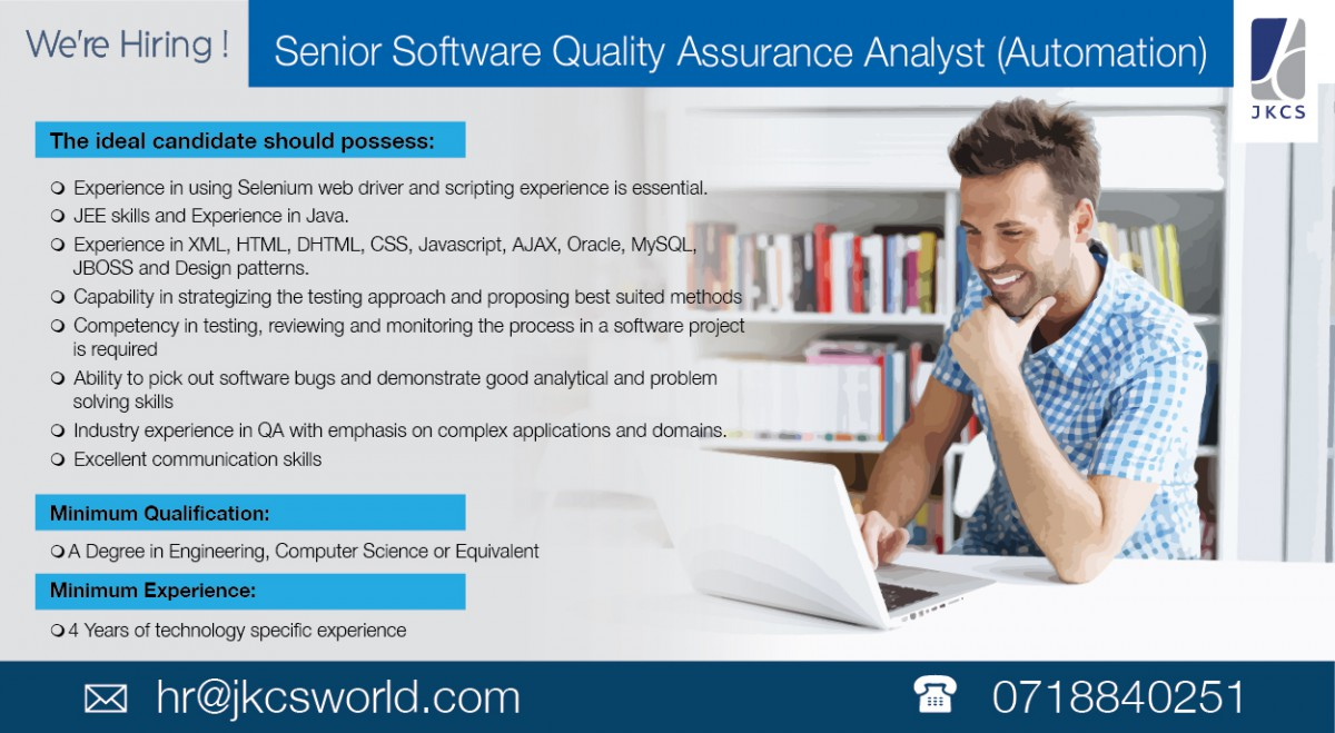 automation of quality assurance essay Software quality assurance this essay software quality assurance and other 64,000+ term papers, college essay examples and free essays are available now on reviewessayscom.