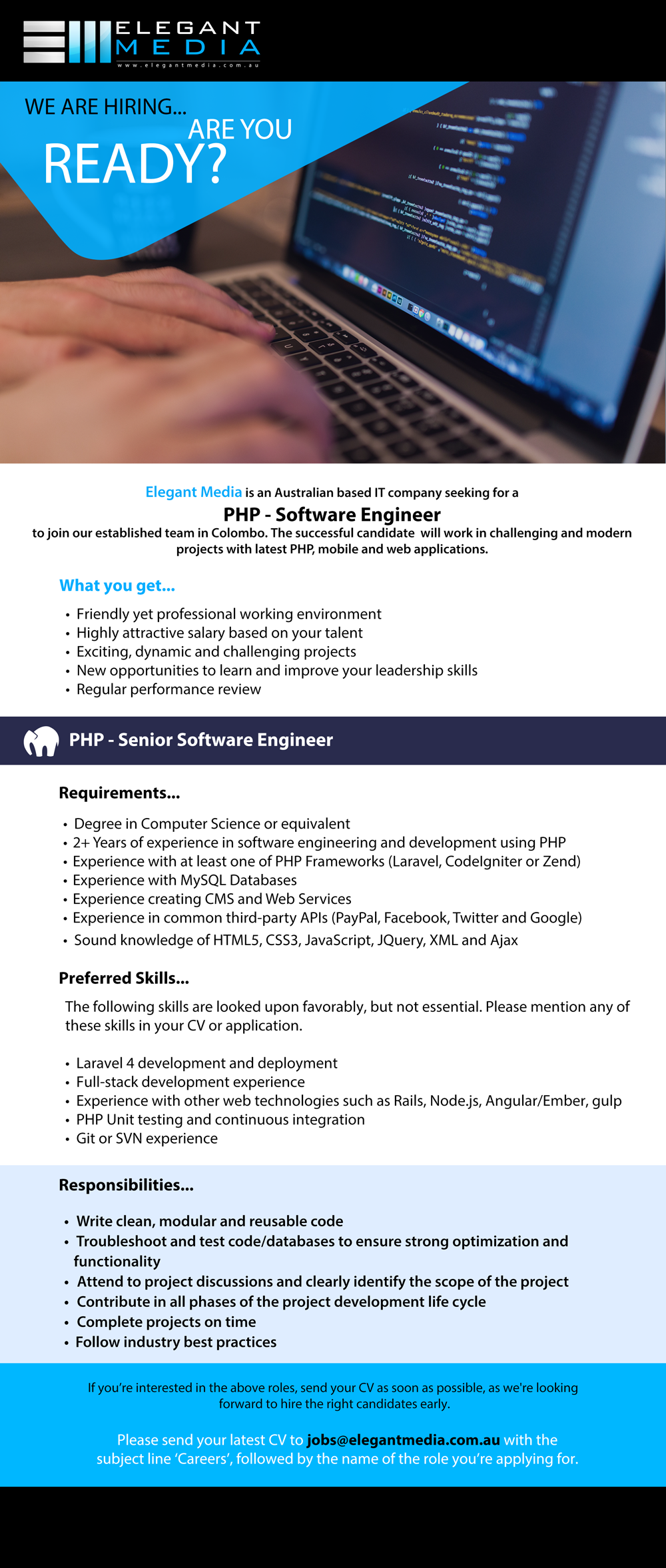Software Engineer - PHP 2019