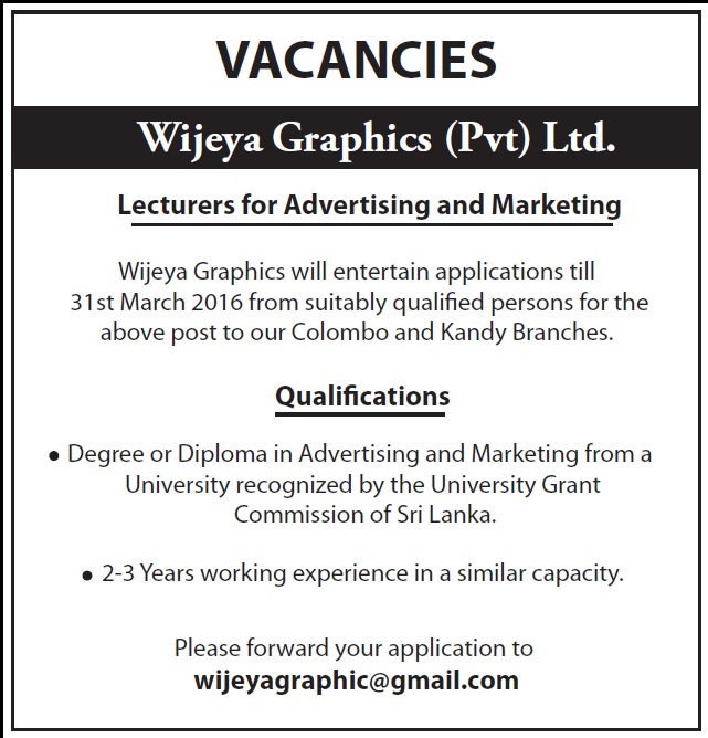 Advertising jobs no experience