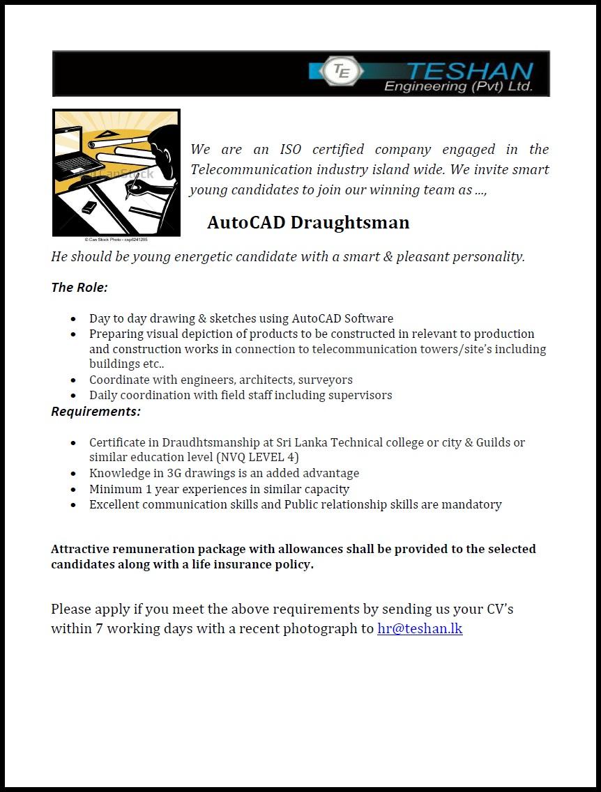 Autocad Draughtsman Dubai Download Free