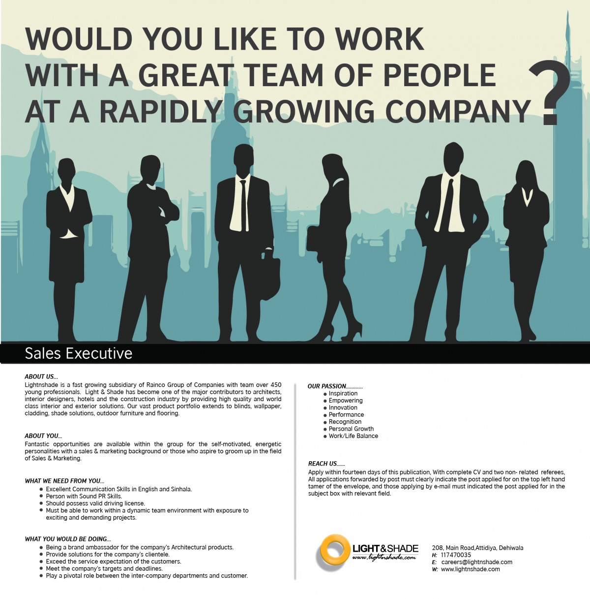 s executive job vacancy in sri lanka fantastic opportunities are available in the group for the self motivated energetic personalities a s 8 marketing background or those who