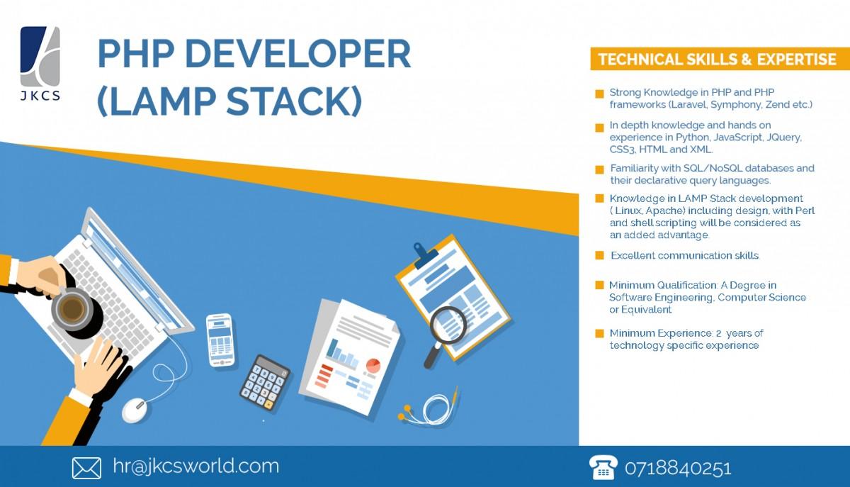 Charming PHP Developer (LAMP Stack)