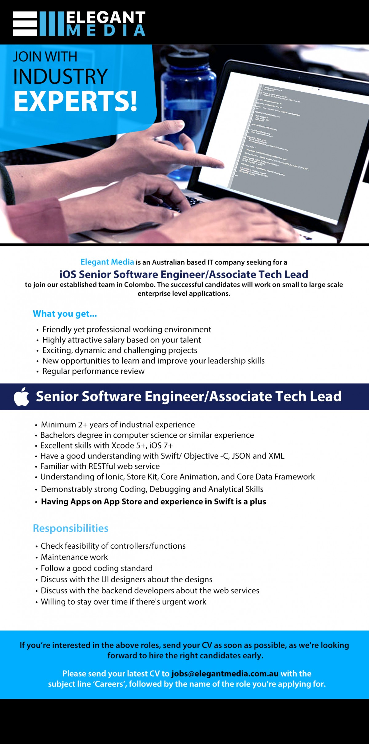 my dream job software engineer It / software 88 jobs engineering 84 jobs marketing 83 jobs administrative 61 jobs logistics 30 jobs education / training job seekers, ready to find your dream job jun 21 14:20 everjobs upload or create your cv and gain access to thousands of job opportunities.