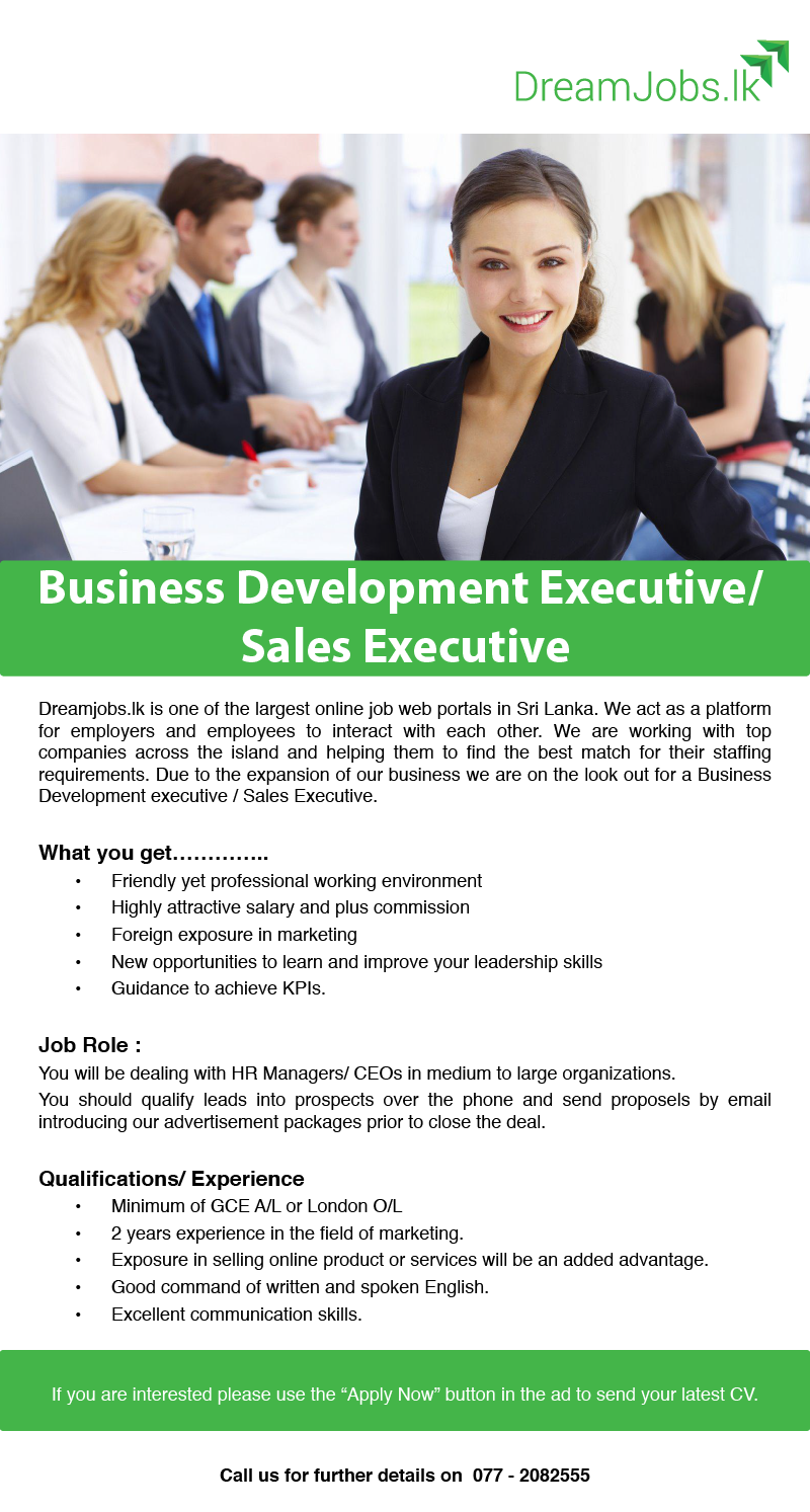 business development executive s executive job vacancy in job role you will be dealing hr managers ceos in medium to large organizations you should qualify leads into prospects over the phone and send