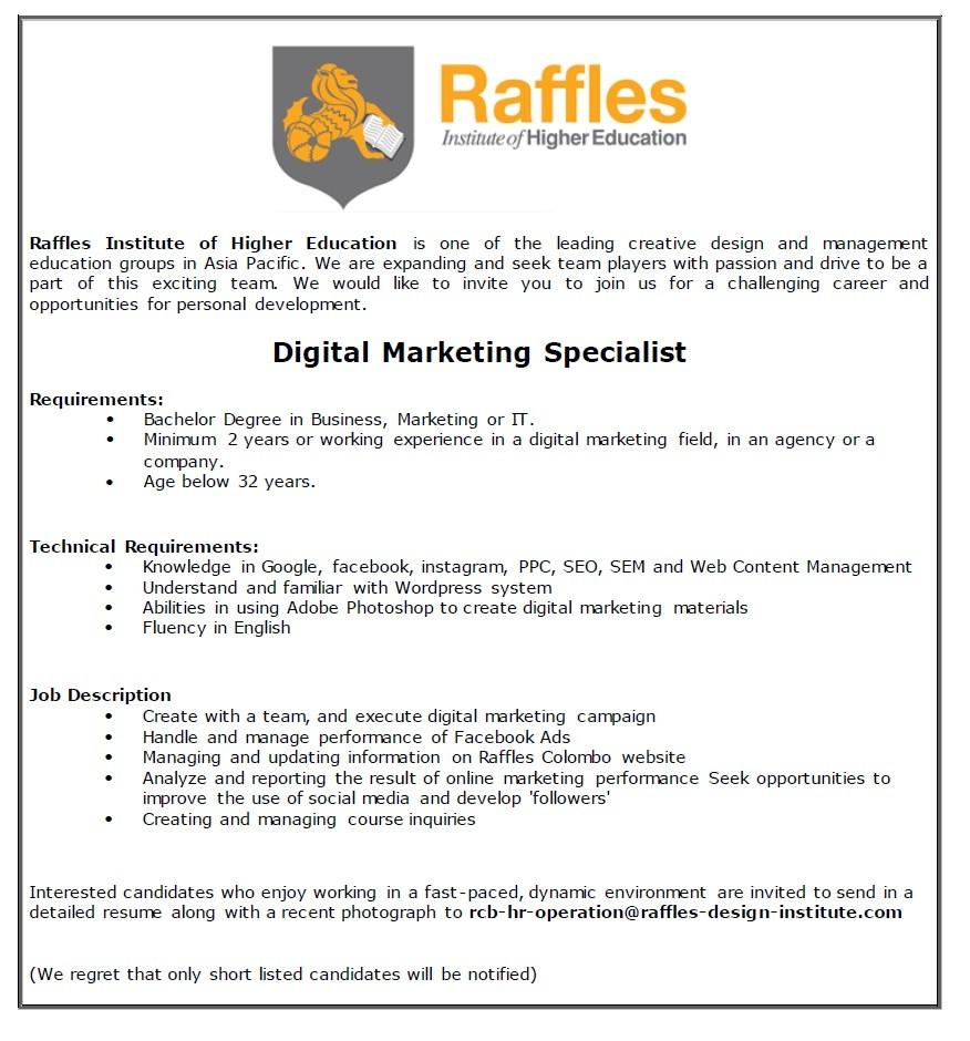 business job description social media job description research consultant job description