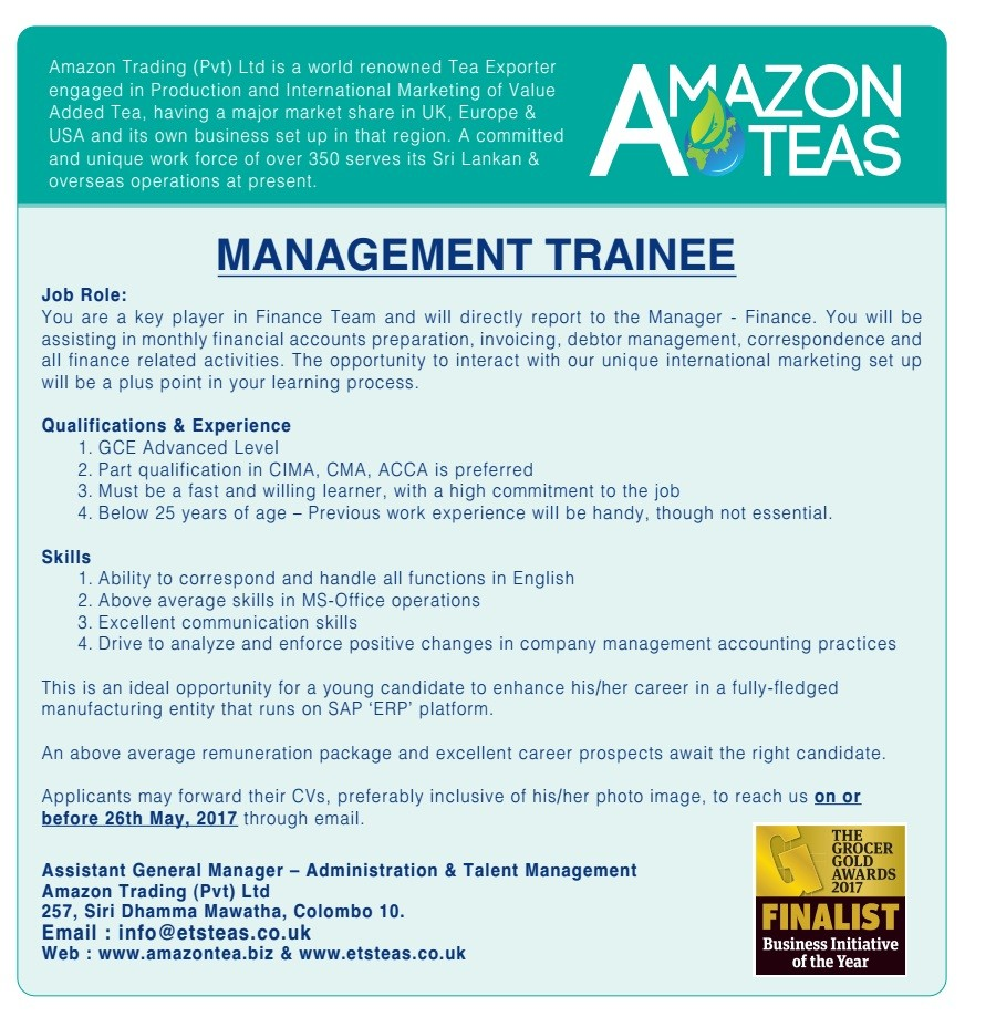 management trainee report