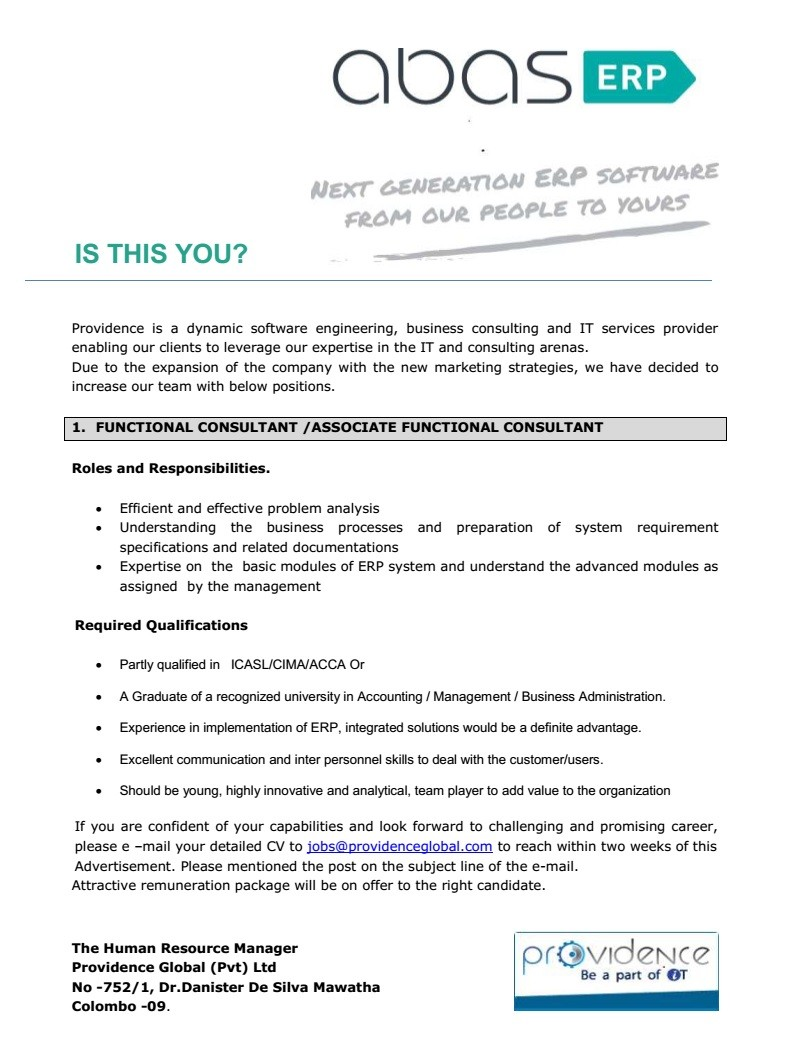 Cover Letter Management Consulting How To Write A Coer - Erp consultant cover letter