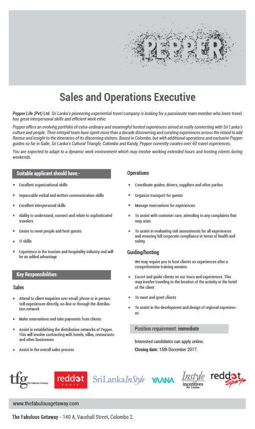 sales  u0026 operations executive 2020