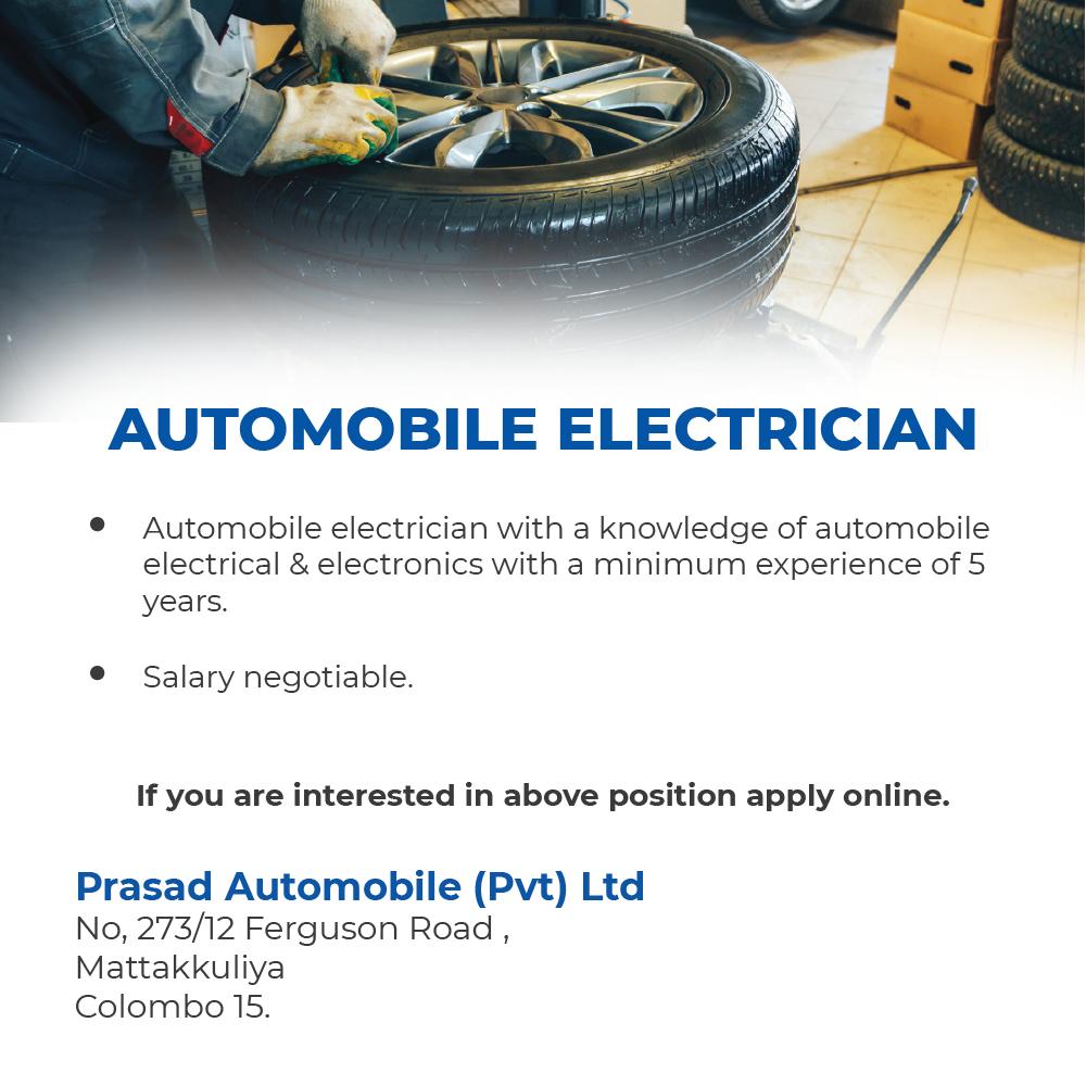 Automobile Electrician 2019