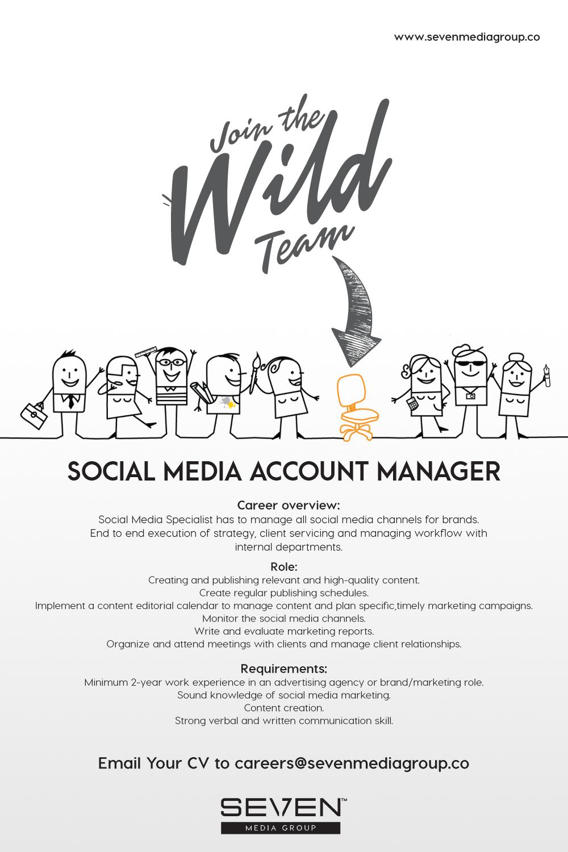 Advertising company account manager job description